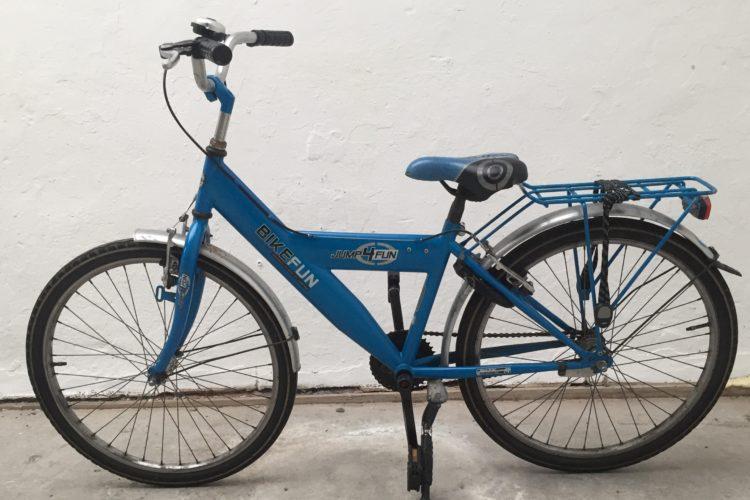 Stoere fiets Bo Blauw