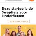 BikeFlip is start-up van de week bij Sprout!
