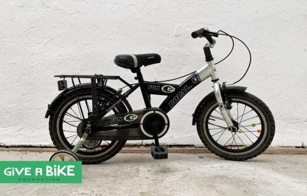 Stoere Popal Fun fiets • 16.6