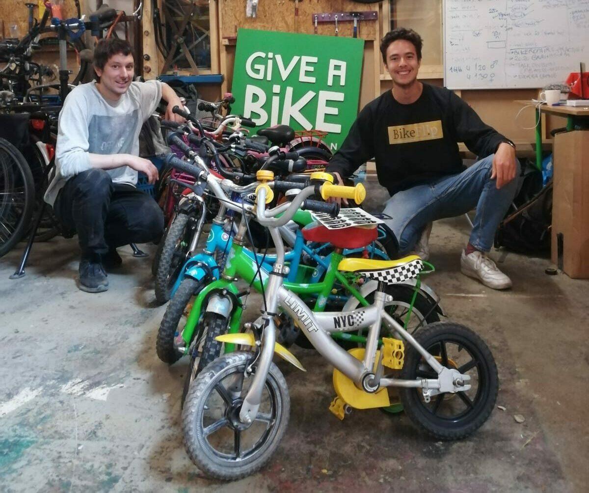 Wij zijn een samenwerking begonnen met Give a Bike Foundation!
