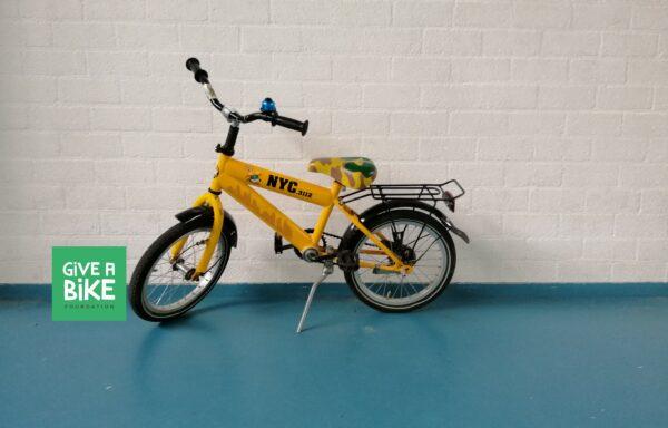 Vette gele fiets • 16.13