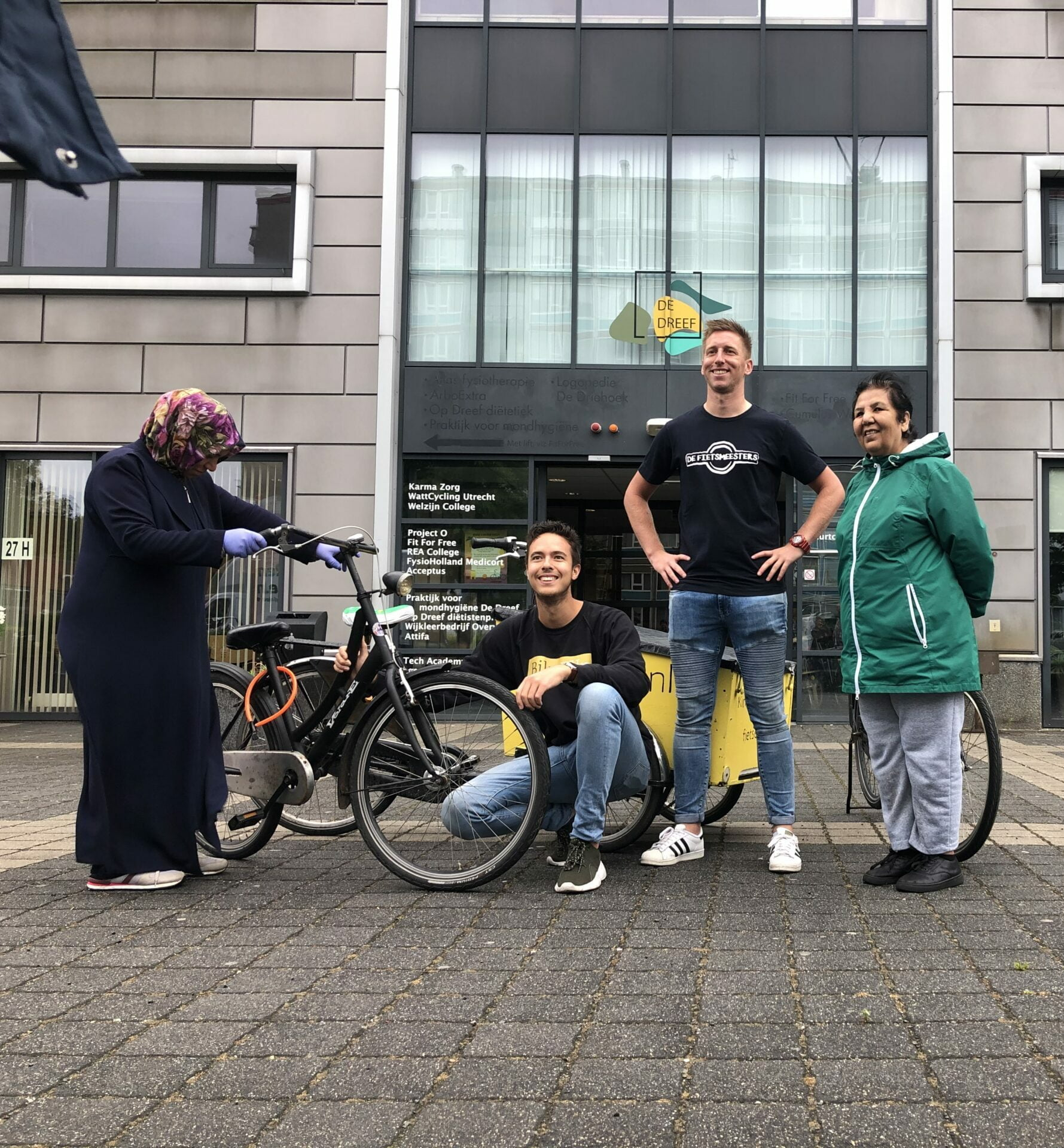 Kick-off 'DeFietsmeesters' project