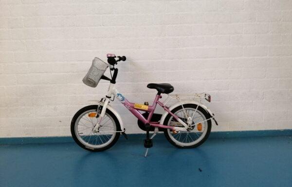 Roze Dora fiets • 16.18