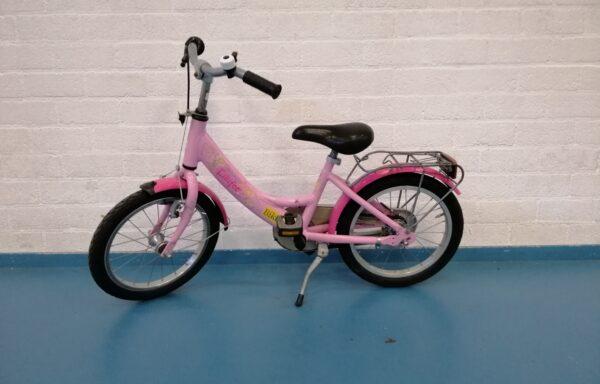 Leuk roze fietsje • 16.19
