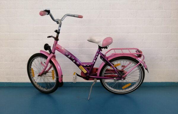 Stralend-roze fiets • 20.24