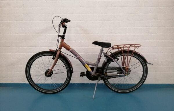 Bruin-grijze Coolgirl fiets • 24.33