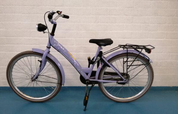 Keurige lila fiets • 24.36